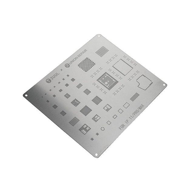 Stencil 2UUL t0.12 Iphone 11 11 PRO 11 PRO MAX