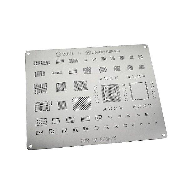 Stencil 2UUL t0.12 Iphone - 8 /8 Plus/ X