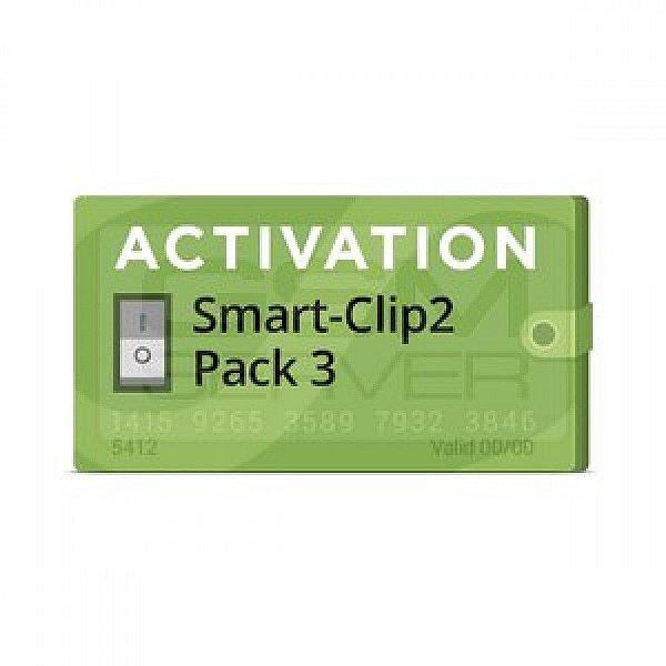 Pack 3 Ativação para Smart-Clip2