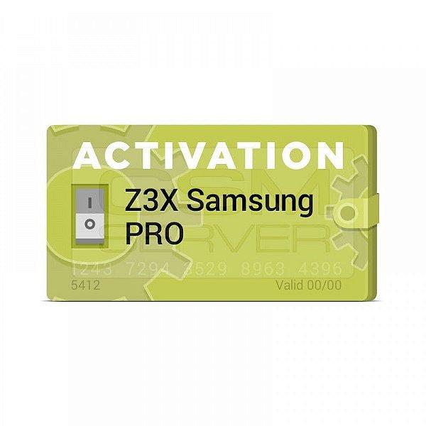 Ativação Samsung Pro Z3X Upgrade