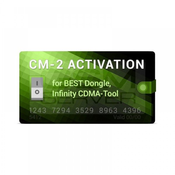 Ativação para BEST Dongle Infinity CDMA-Tool (Suporte de 1 ano incluído) Chinese Miracle-2