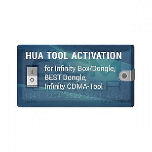 Ativação da Hua para Infinity-Box / Dongle, BEST Dongle, Infinity CDMA-Tool
