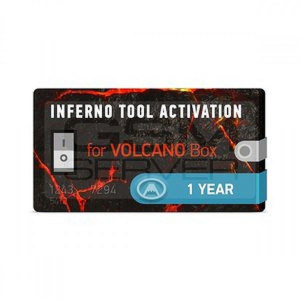 Ativação Inferno de 1 Ano para Volcano Box