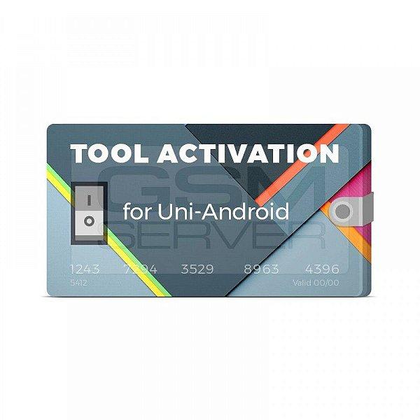 Conta Uni Android Tool Ativação 1 Ano