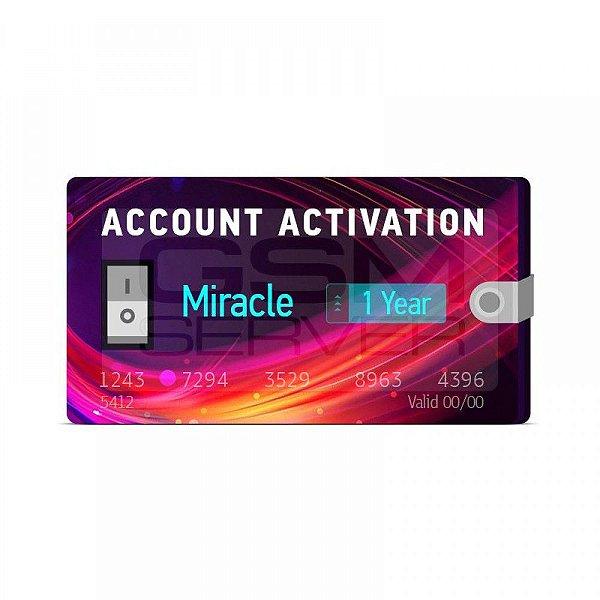 Renovação de 1 ano para Miracle Box com Miracle Key Dongle