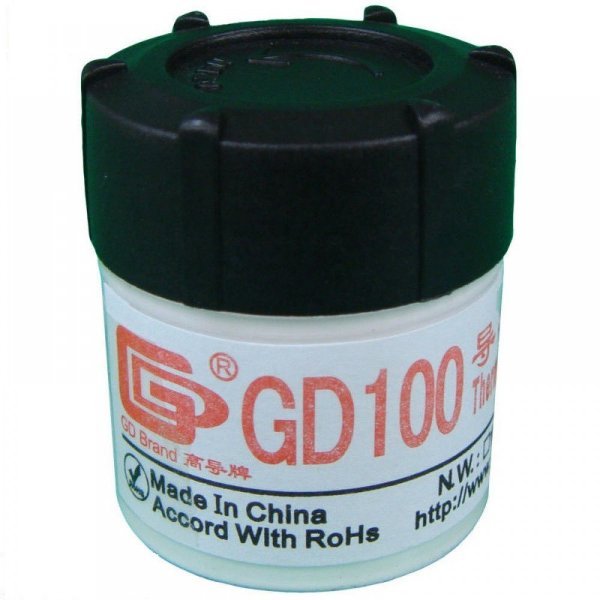 Pasta Termica Com Silicone Branca Gd100 20 gr