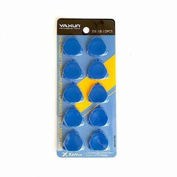 Palheta Plastica Yaxun YX 1B Kit Com 10 Unidades