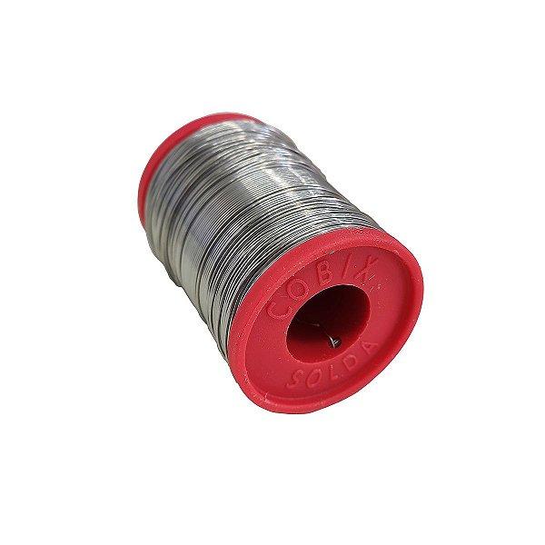 Estanho Para Solda Cobix 0.5mm 63X37 250Gr Vermelho