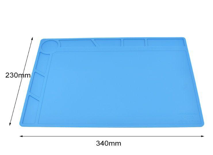 Tapete manta de silicione profissional s120  340mm por 230mm
