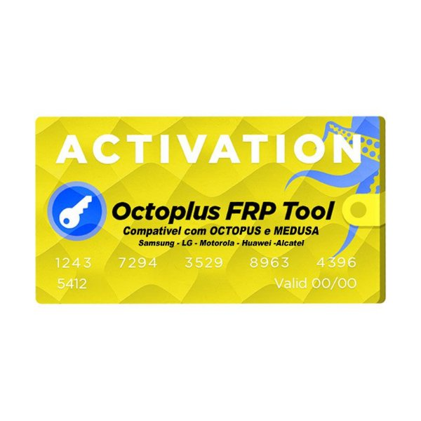 Ativação Octoplus Frp Tool Octopus Octoplus Medusa