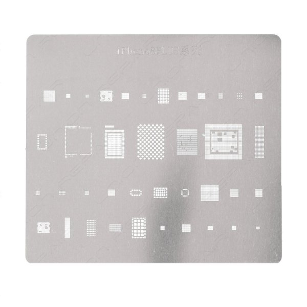 Stencil Para Reballing E Bga Iphone 8 Plus