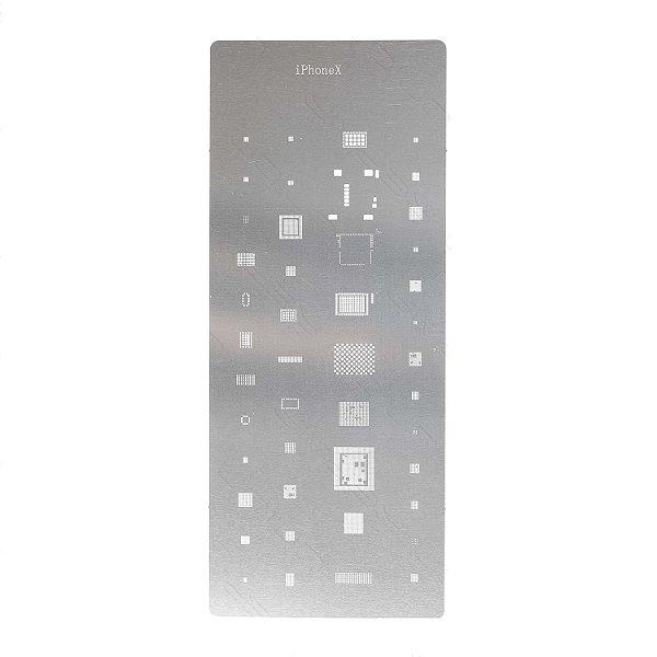 Stencil Wylie Para Reballing E Bga Iphone X