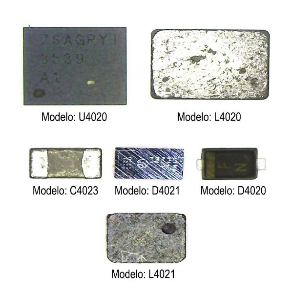 Kit Backlight 6X1 iPhone 6S 6S Plus