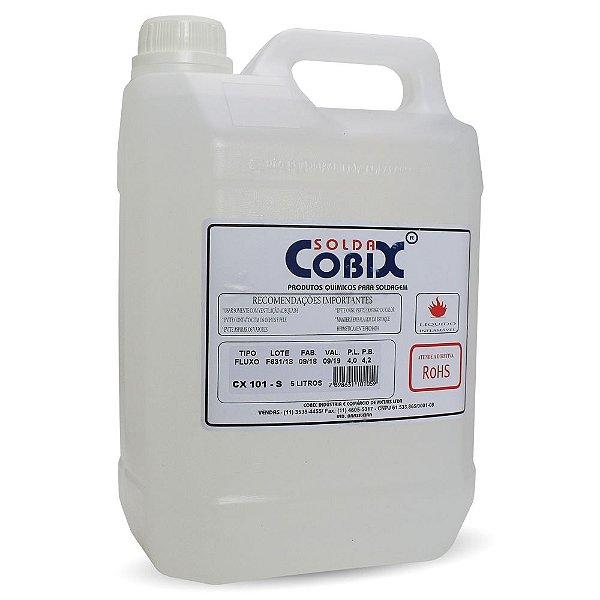 Fluxo De Solda Liquido Cobix Cx101 5 Litros