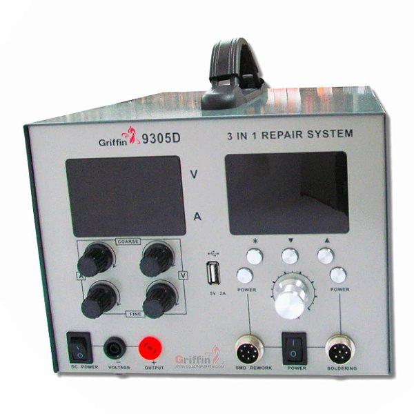 Estação de Solda Digital 5A Griffin 9305D 110v + Brinde