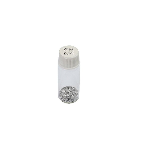 Esferas Bga Reballing 0.35mm Pote Com 25Mil