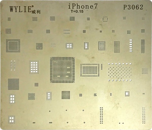 Stencil para Reballing E Bga Iphone iPhone 7 P3062