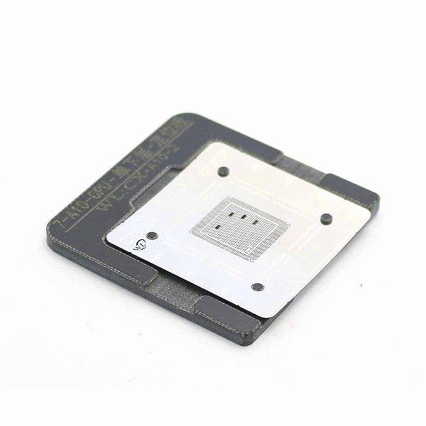 Stencil BGA A10 - 2 CPU iphone 7 Com Suporte