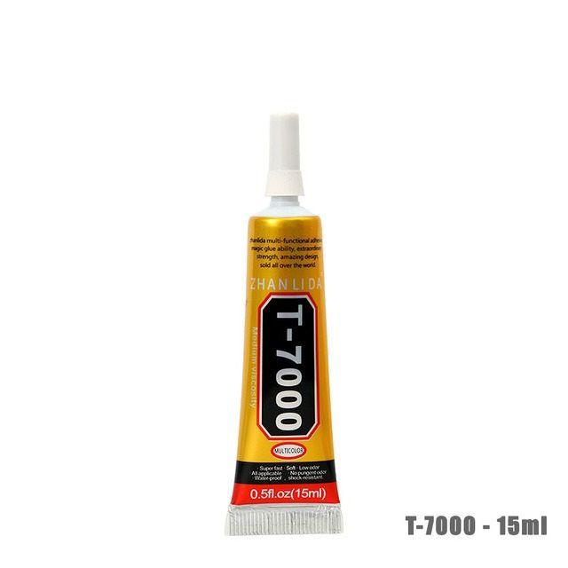 Cola Profissional T7000 15ml  Preta