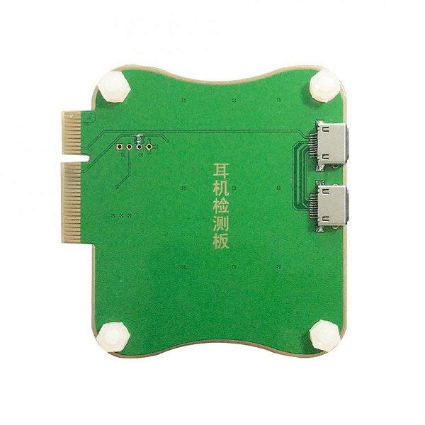Adaptador JC PRO1000S Teste Audio Fone Ouvido Lightning iPhone