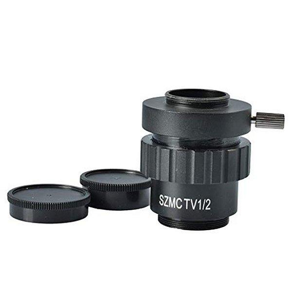 Adaptador Lente Camera Microscopio SZMCTV 1/2