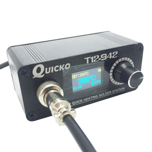 Estação de Solda Profissional Quicko T12 942