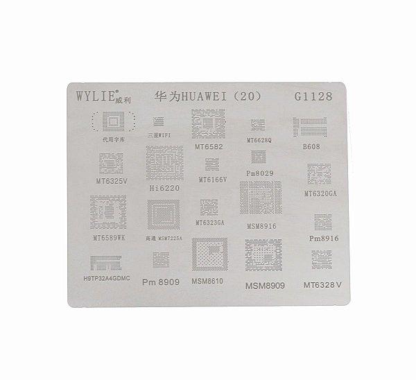 Stencil Wylie Para Reballing E Bga Huawei G1128
