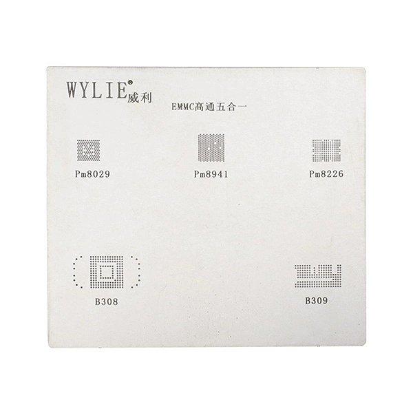 Stencil BGA EMMC PM8029 PM8041 PM8226 B308 B309