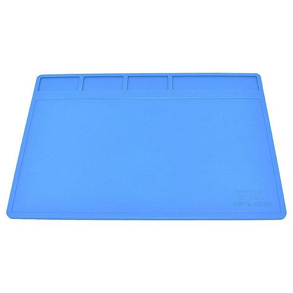 Tapete manta de silicione profissional s110 280mm por 200mm