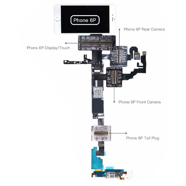 Flex Teste iBridge Qianli iPhone 6 Plus