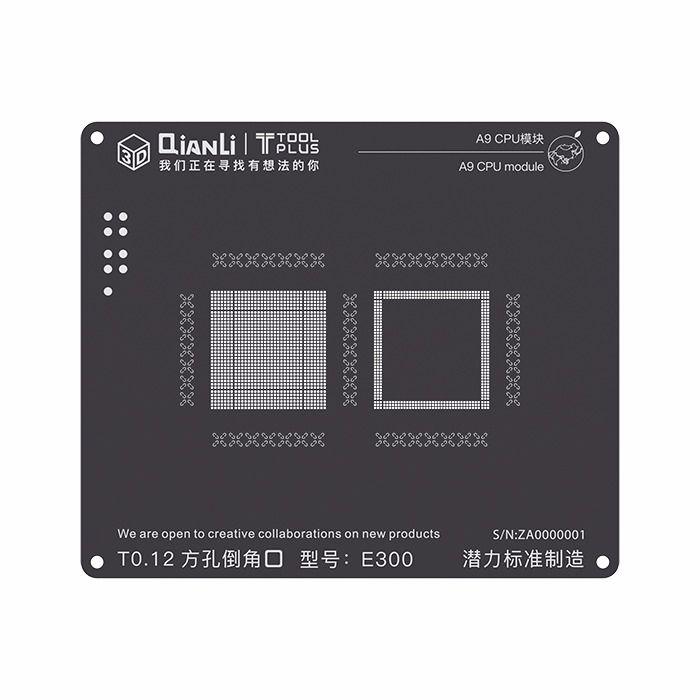 Stencil Black CPU A9 6S Qianli