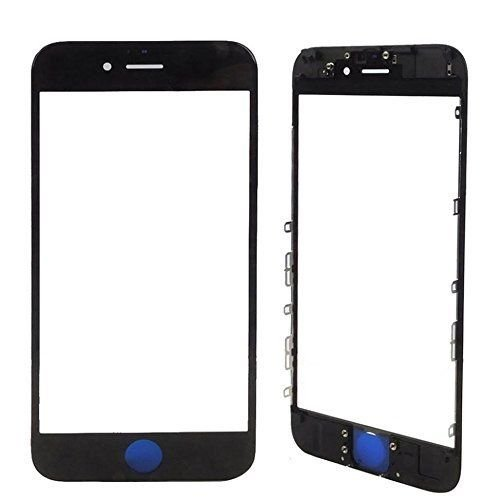 Vidro Frontal Iphone 6S 5.5 Preto Com Moldura