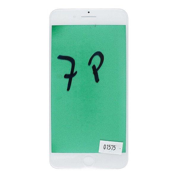 Vidro Frontal iPhone 7Plus 5.5 Branco