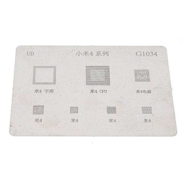 Stencil Reballing BGA G1034 para Xiaomi 4 Mi4 Mi