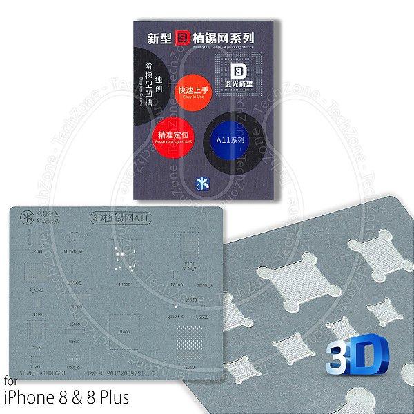 Stencil Bga 3D Iphone A11  iPhone 8 e iPhone X Kaisi