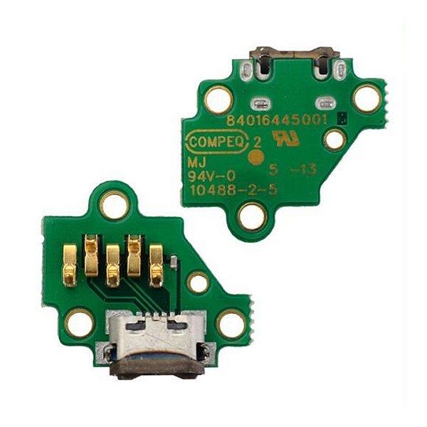 Conector de Carga Moto G3 Placa