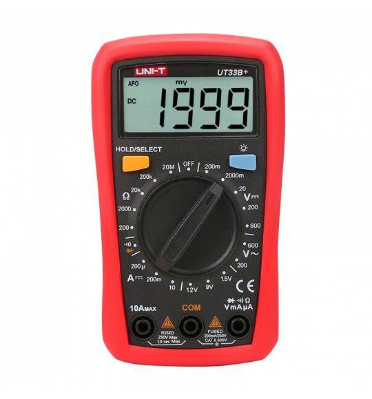 Multimetro Digital Uni-t UT33B+ 33B+