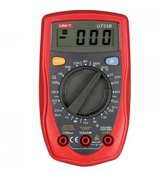 Multimetro Digital Uni-t UT33B  33B