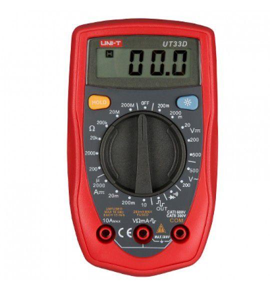 Multimetro Digital Uni-t UT33D 33D