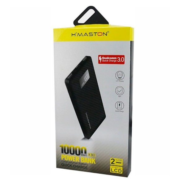 Carregador Portatil Hmaston 10000mha H-963 Preto
