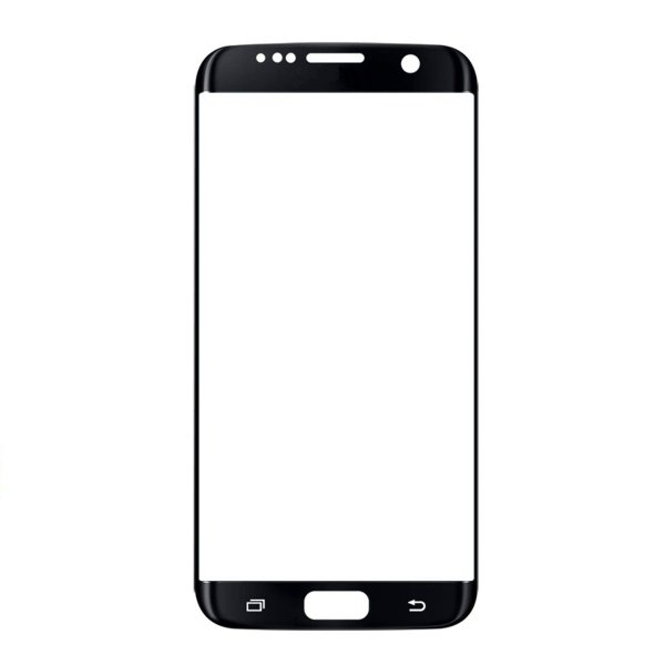 Vidro Frontal Samsung S7 Edge Original Preto