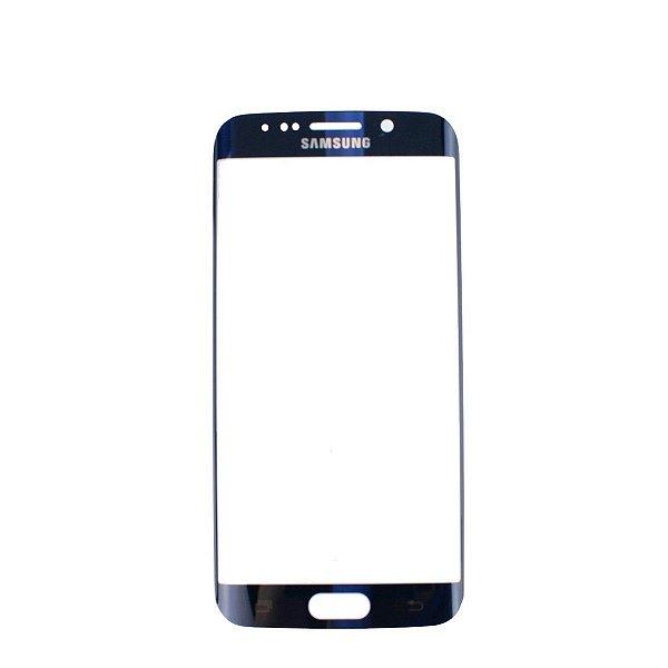 Vidro Frontal Samsung S6 Edge Original Preto