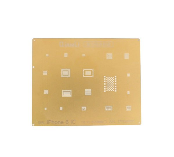 Stencil Gold iPhone 6 To.12 Qianli