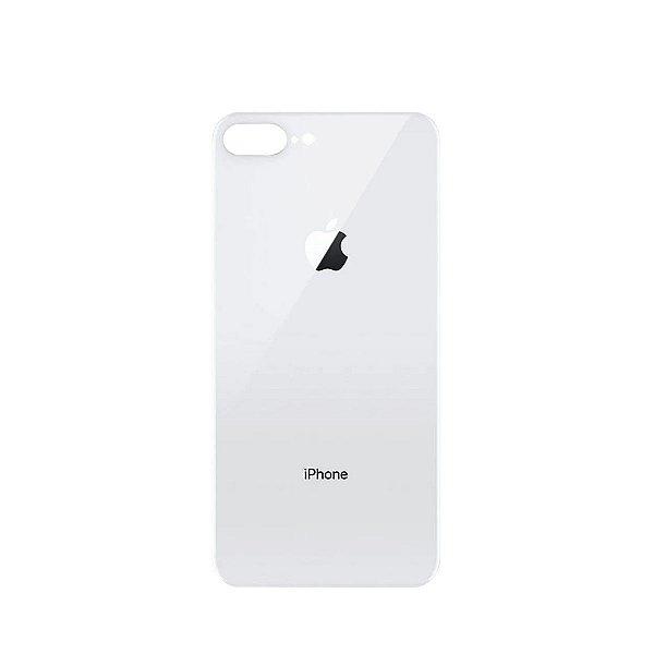 Tampa de vidro Traseira Iphone 8G Plus Branca