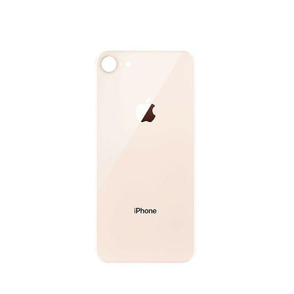 Tampa de vidro Traseira Iphone 8G Rose