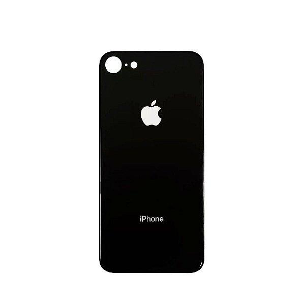 Tampa de vidro Traseira Iphone 8G Preta