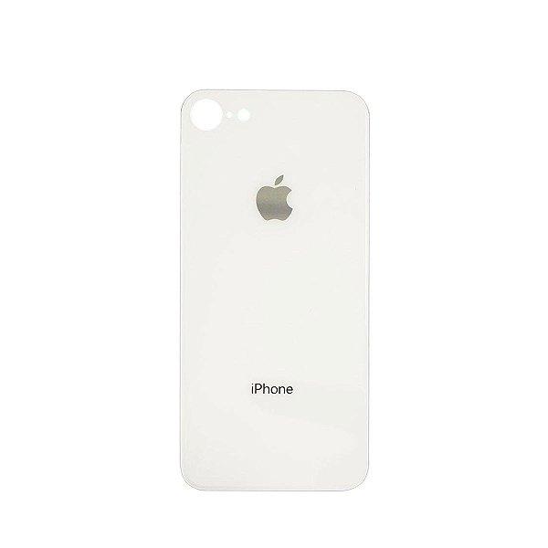 Tampa de vidro Traseira Iphone 8G Branca