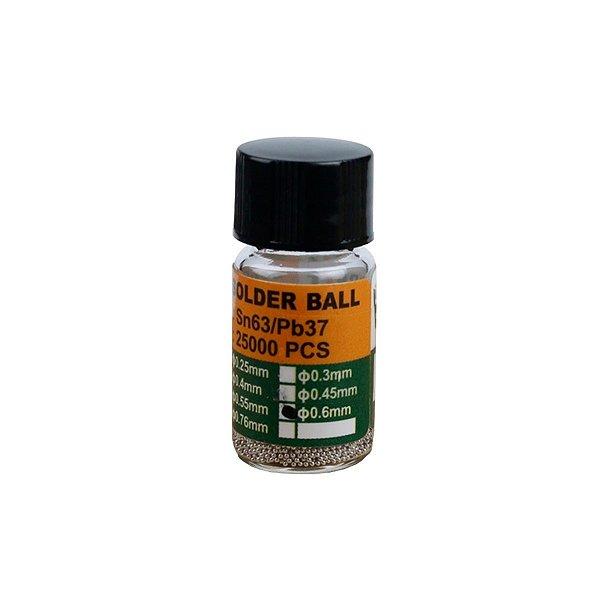 Esferas Bga Reballing BST505 0.60mm Pote Com 25Mil