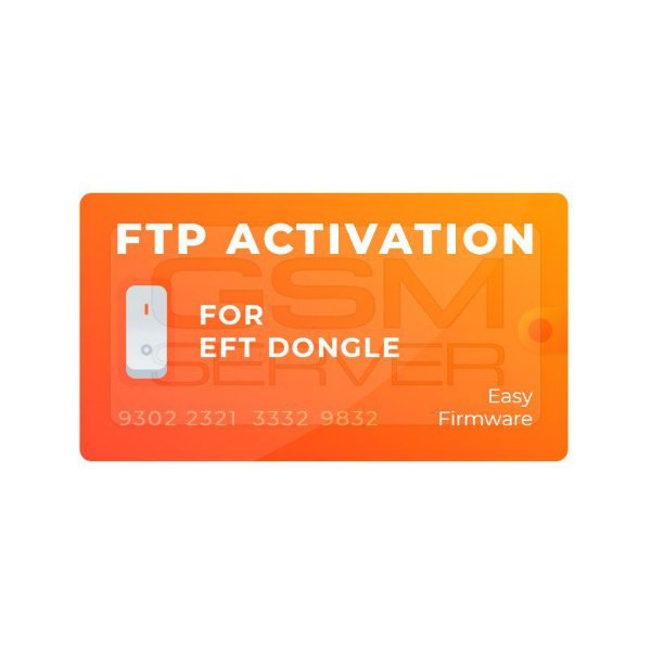 Suporte de Download FTP EFT Dongle 1 Ano ilimitado