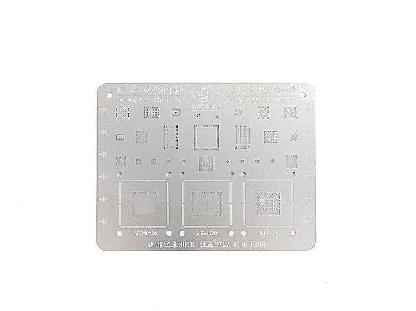 Stencil Para Reballing E Bga Xiaomi MI3
